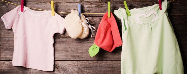 Import av barnkläder från Asien