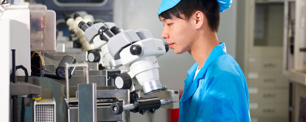 Labbtester i Asien