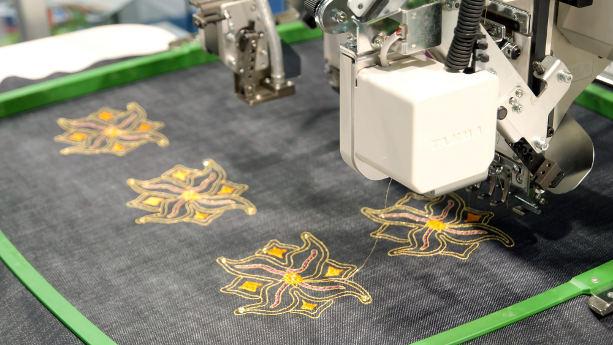 Vietnam textilfabrik