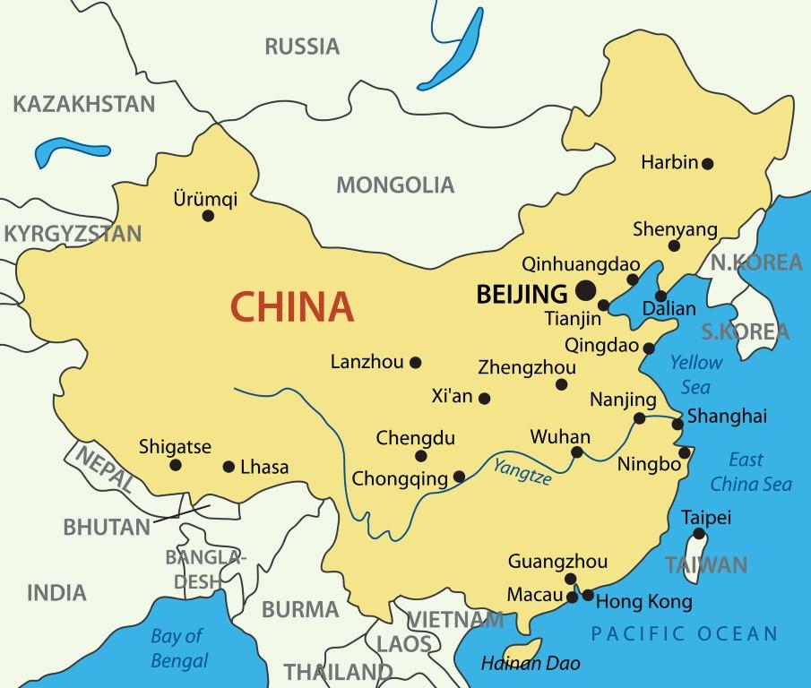 Kina karta