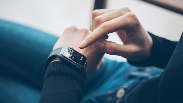 Bild på smartwatch