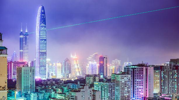 Shenzhen i södra Kina